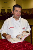 Buddy Valastro 'The Cake Boss' promotes the book 'Baking Cake With The Boss' during the 2011 Chocolate World Expo at the Meadowlands Exposition...