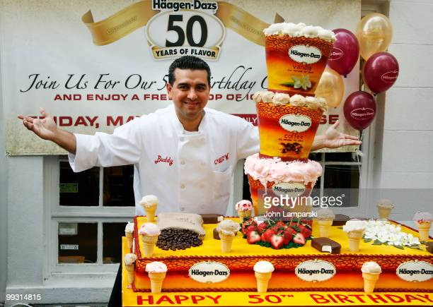 Buddy Valestro attends HaagenDazs' 50th birthday celebration at the HaagenDazs Flagship Shop on May 14 2010 in the Brooklyn borough of New York City