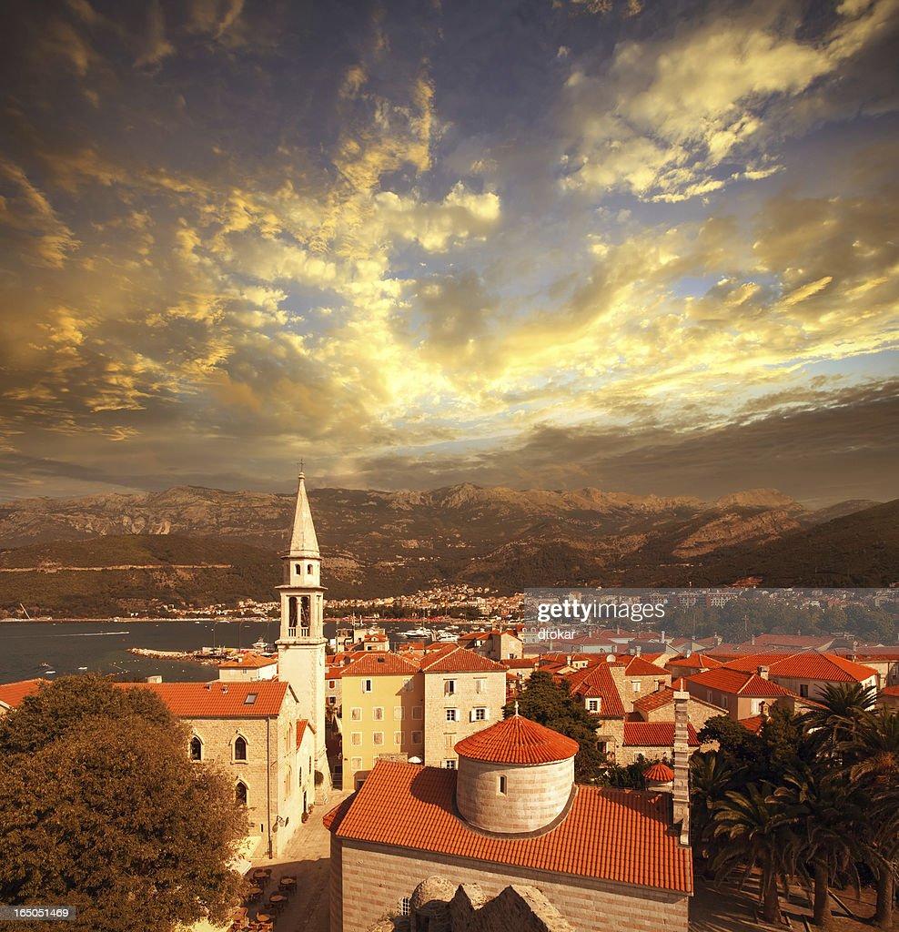 Budva city in Montenegro