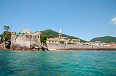 The Old town of Budva Montenegro