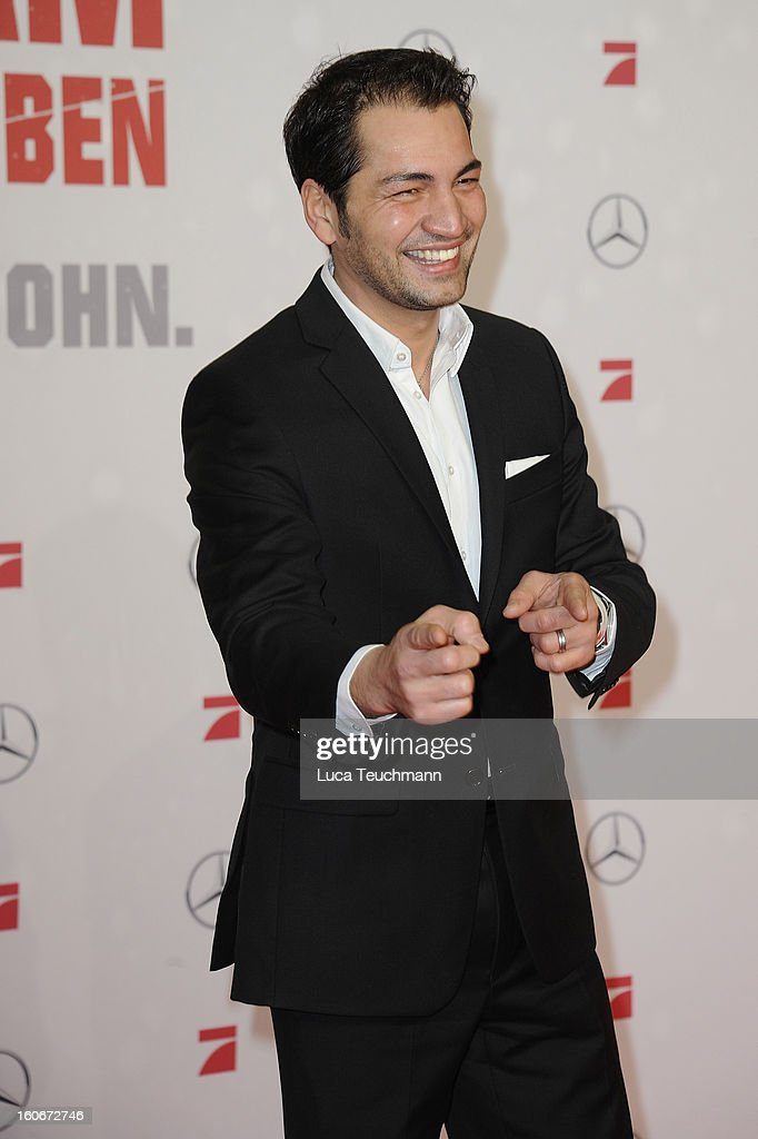 Buelent Sharif attends the premiere of 'Die Hard - Ein Guter Tag Zum Sterben' at Sony Center on February 4, 2013 in Berlin, Germany.