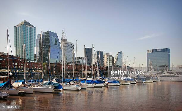 Buenos Aires skyline viewed from Puerto Madero