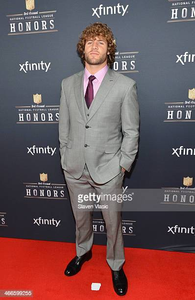 Buffalo Bills linebacker Kiko Alonso attends the 3rd Annual NFL Honors at Radio City Music Hall on February 1 2014 in New York City
