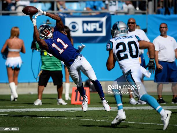 Buffalo Bills wide receiver Zay Jones is unable to get his hands on a pass from quarterback Tyrod Taylor in the closing seconds of fourth quarter...