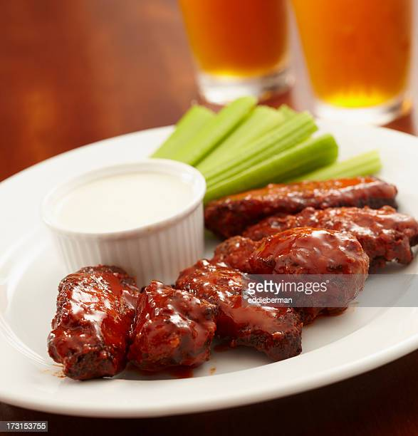Buffalo Chicken Wings and Beer