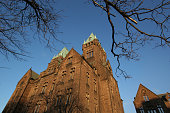 Buffalo Psychiatric Center, Romanesque monument.