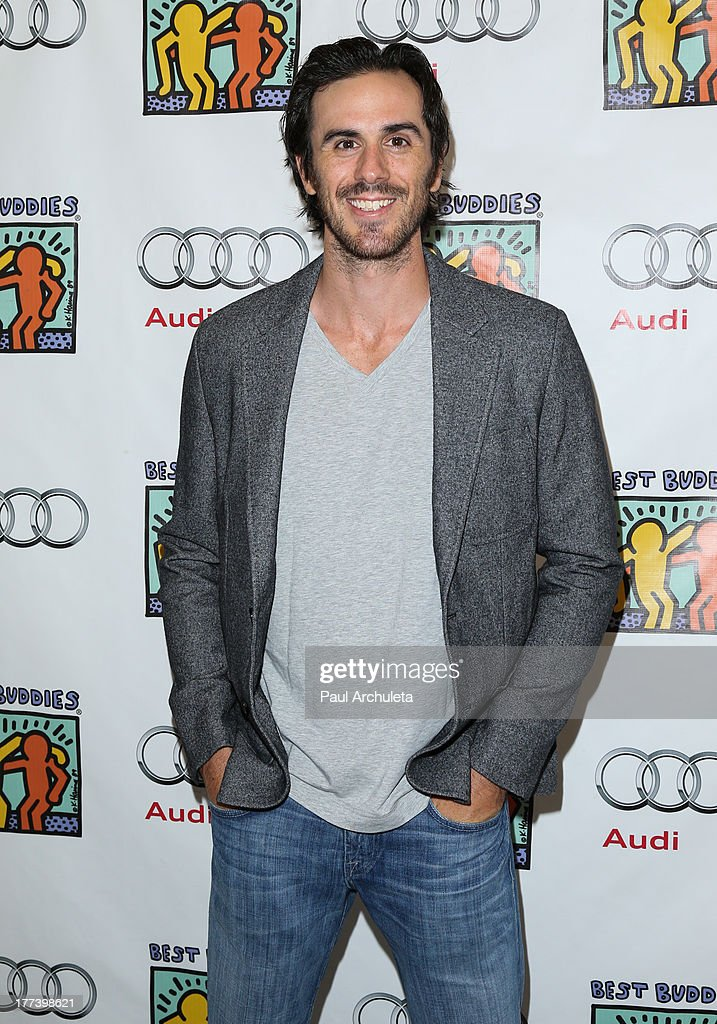 Buffalo Sabres Goaltender Ryan Miller attends the Best Buddies celebrity poker charity event at Audi Beverly Hills on August 22, 2013 in Beverly Hills, California.