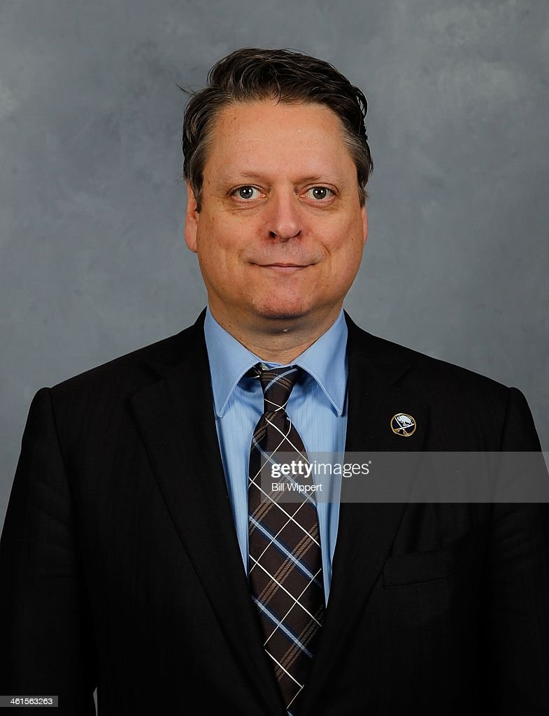 Buffalo Sabres new general manager Tim Murray poses for his official headshot for the 2013-14 season on January 9, 2014 at the First Niagara Center in Buffalo, New York.