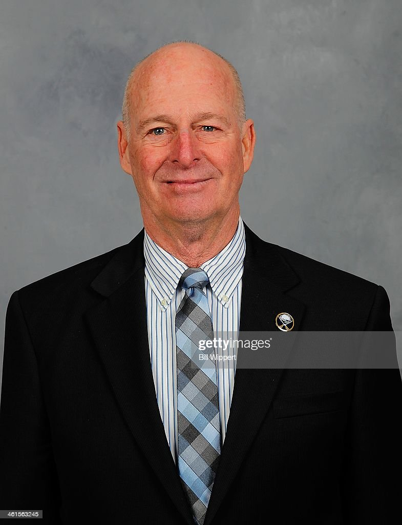 Buffalo Sabres special assistant and advisor to the hockey department Craig Patrick poses for his official headshot for the 2013-14 season on January 9, 2014 at the First Niagara Center in Buffalo, New York.