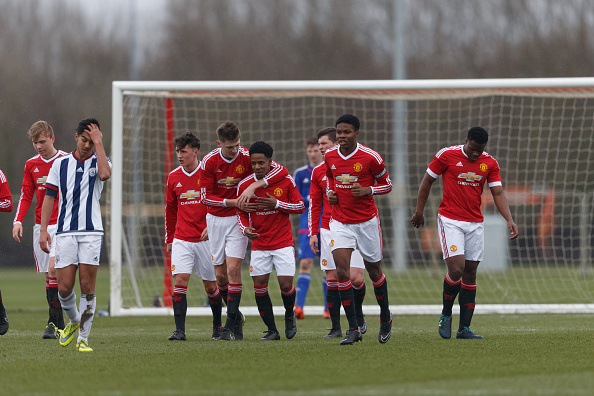 Manchester United v West Bromwich Albion: U18 Premier League : News Photo