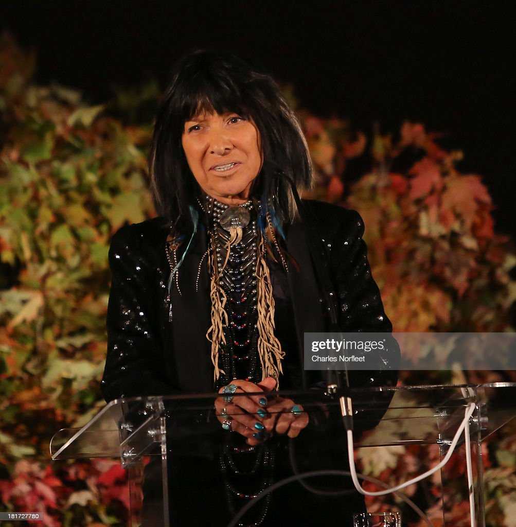 Buffy Sainte-Marie attends 2013 Multicultural Gala: An Evening Of Many Cultures at Metropolitan Museum of Art on September 23, 2013 in New York City.
