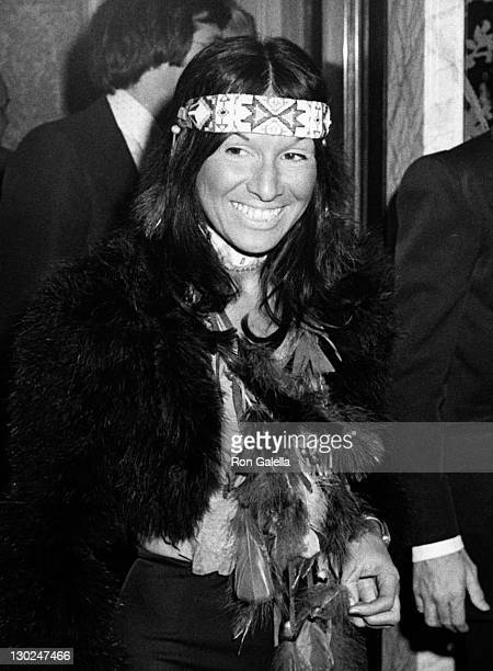 Buffy SainteMarie attends First Annual American Indians Development Association Benefit Gala on November 26 1974 at the Waldorf Astoria Hotel in New...
