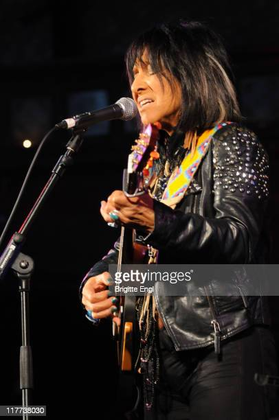 Buffy SainteMarie performs on stage at the Union Chapel on June 30 2011 in London United Kingdom