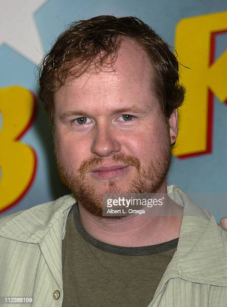 'Buffy The Vampire Slayer' creator Joss Whedon during 'Buffy The Vampire Slayer' 'Once More With Feeling' CD Release at Tower Records Sunset in...
