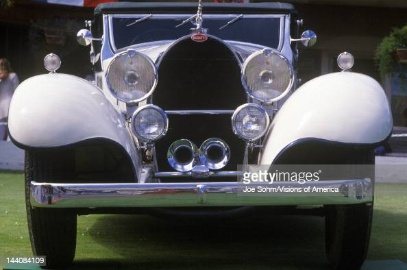 A 6 Bugatti Royales at the 35th Annual Concours D' Elegance Competition in Carmel CA