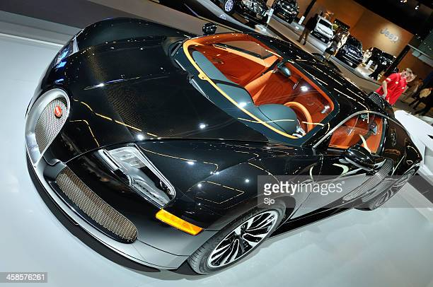 Bugatti Veyron Sang Noir supercar front view