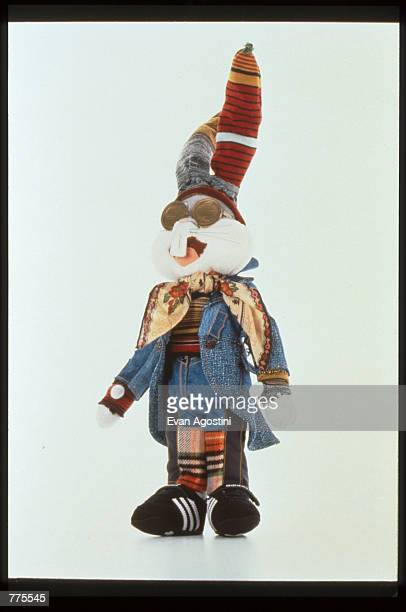 Bugs Bunny wears designer clothing by Christian LaCroix at the Warner Bros Studio store October 23 1996 in New York City The store originally a three...
