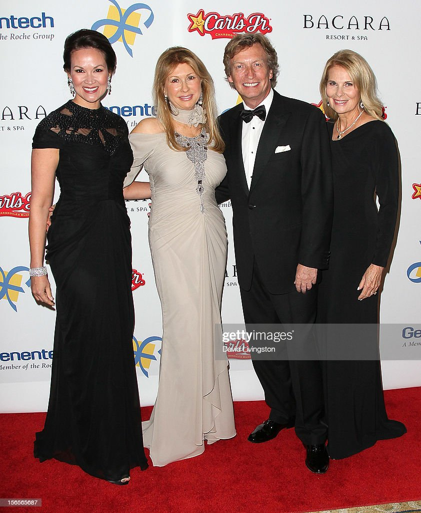 Bui Simon, Mireille Noone, executive producer Nigel Lythgoe and Jelinda De Vorzon attend the Dream Foundation's 11th Annual Celebration of Dreams at Bacara Resport and Spa on November 16, 2012 in Santa Barbara, California. Dream Foundation is a national organization that serves the final wishes of adults - and their families - facing life-threatening illness.