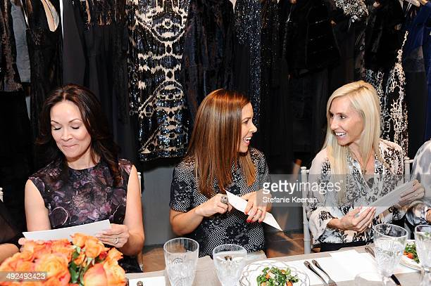 Bui Simon Monique Lhuillier and Alexandra Von Furstenberg attend Monique Lhuillier Pre Fall Lunch on May 20 2014 in Los Angeles California