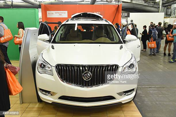 Buick car on display at the Grand Tasting presented by ShopRite featuring Samsung culinary demonstrations presented by MasterCard Food Network...