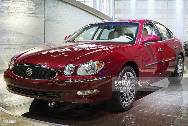 Buick introduces its new LaCrosse at the Chicago Auto Show February 5 2004 in Chicago Illinois
