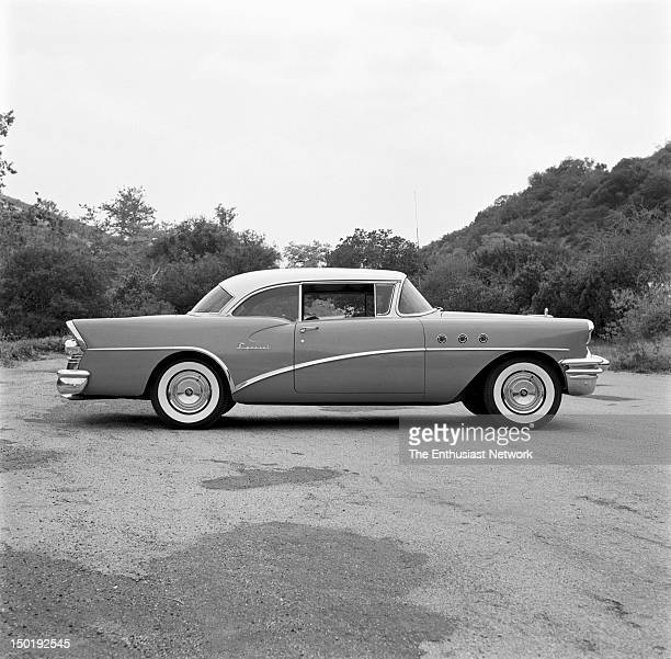 Buick Special Hardtop Coupe Outtakes of Motor Trend Research Road Test July 1955 issue 264 Cubic Inch V8