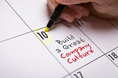 Build a Great Company Culture calendar note