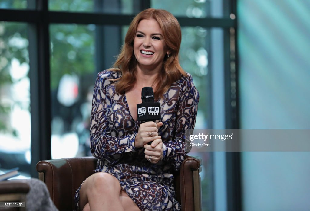 Build presents Isla Fisher discussing her book 'Marge In Charge' at Build Studio on October 3, 2017 in New York City.