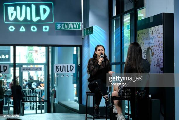 Build Presents Jasmine Thompson Discussing Her Album 'Wonderland' at Build Studio on May 23 2017 in New York City