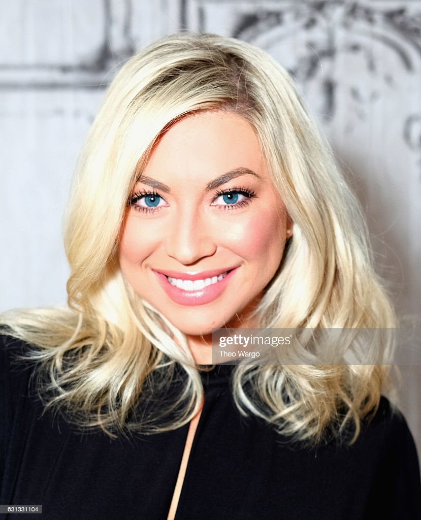 Build Presents Stassi Schroeder Discussing Her Podcast 'Straight Up with Stassi' at AOL HQ on January 9, 2017 in New York City.