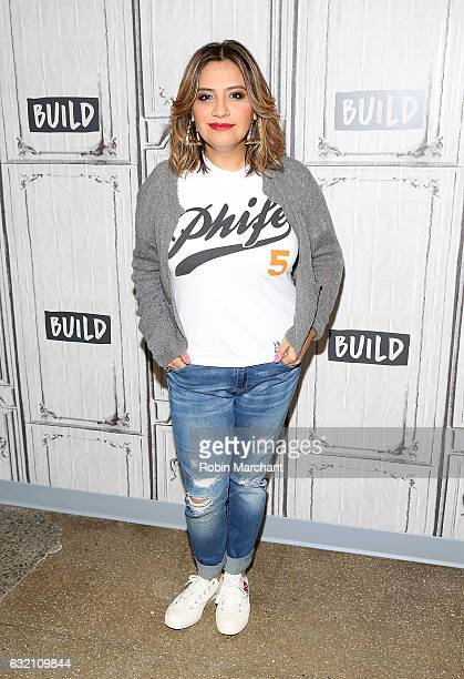 Build Series Presents Cristela Alonzo discussing her role in 'Lower Classy' at Build Studio on January 19 2017 in New York City