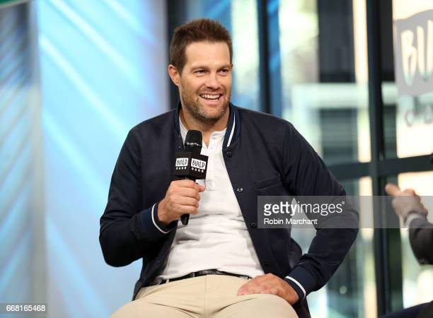 Build Series Presents Geoff Stults discussing 'Unforgettable' at Build Studio on April 13 2017 in New York City