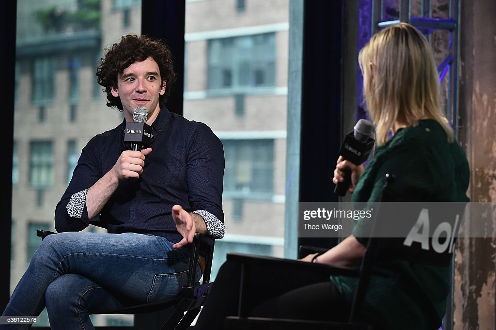 Build Speaker Series - <a gi-track='captionPersonalityLinkClicked' href=/galleries/search?phrase=Michael+Urie&family=editorial&specificpeople=883711 ng-click='$event.stopPropagation()'>Michael Urie</a> Discusses Hosting The 61st Drama Desk Awards at AOL Studios In New York on May 31, 2016 in New York City.