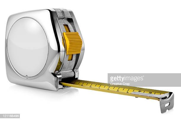 Builders metallic tape measure
