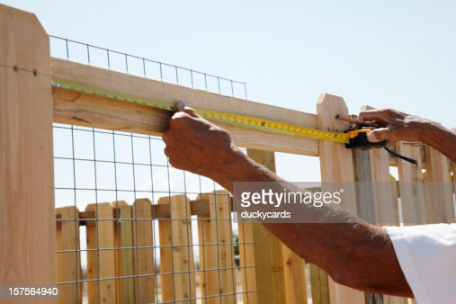 Building a Fence Series - Measuring