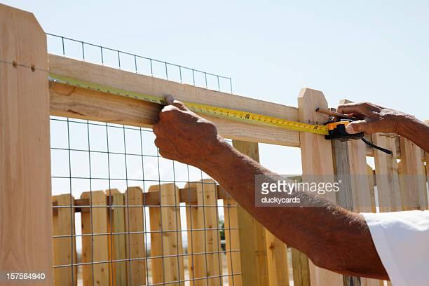 Construir uma vedação série de medição