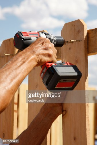 Building a Fence Series - Using Power Drill