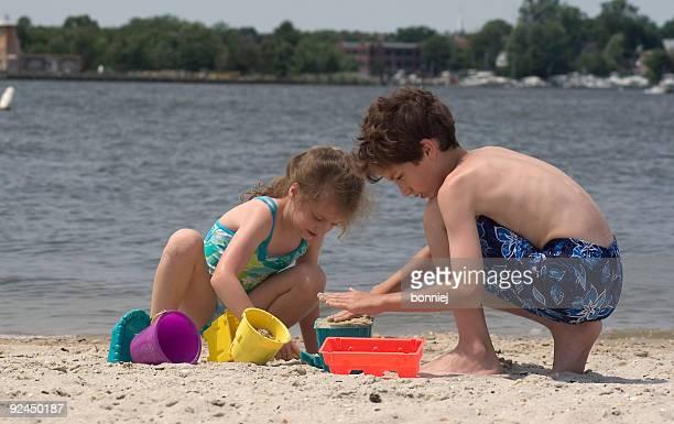 Costruire un castello di sabbia