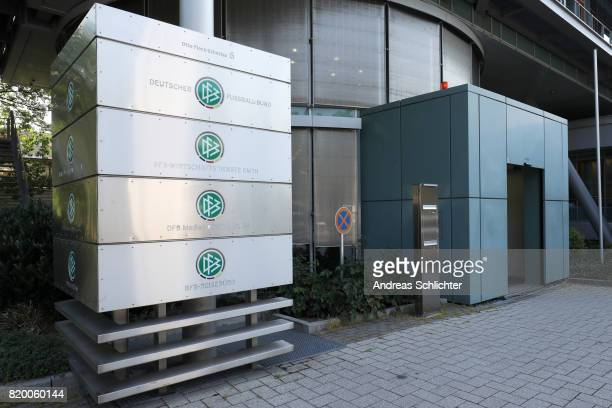 building at DFB Headquarter on July 19 2017 in Frankfurt am Main Germany