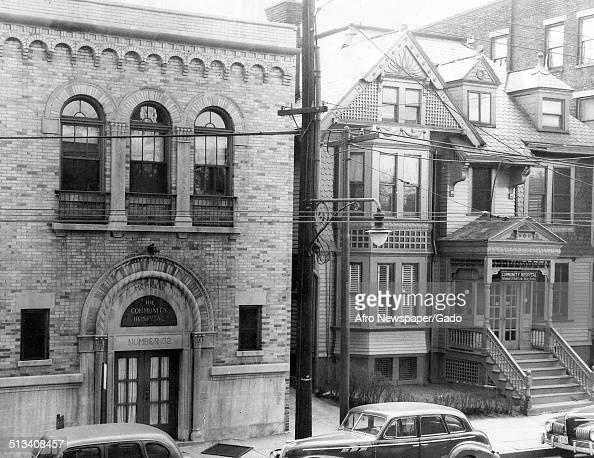 Building at NewarkWayne Community Hospital Newark New Jersey 1948