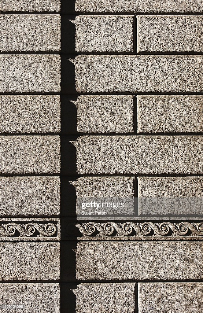 Building brickwork detail : Stock Photo
