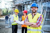 Building Construction crew