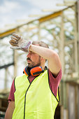 summer,heat,sweat,construction,manual work