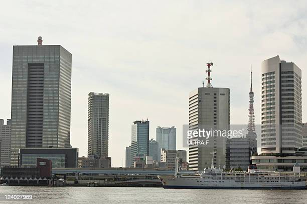 Building group in coast, Tokyo