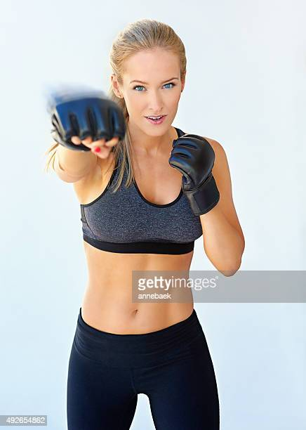 Building her punching power
