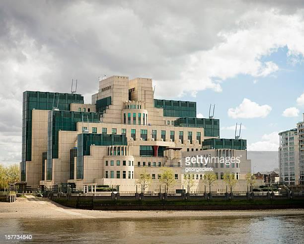 O SIS (segredo serviços de informações ou MI6) edifício em Londres