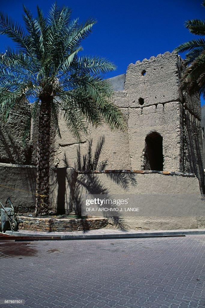 Building in Nizwa Oman