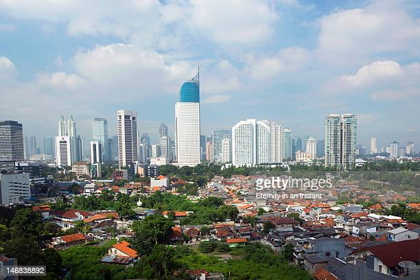 BNI building in the Business district of Jakarta