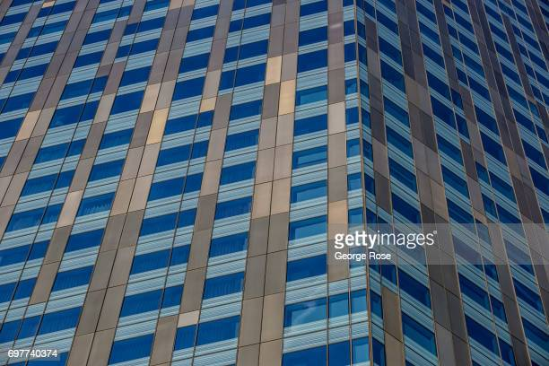 A building in the CityCenter complex adjacent to the Aria Hotel Casino on May 29 2017 in Las Vegas Nevada Tourism in America's 'Sin City' has within...