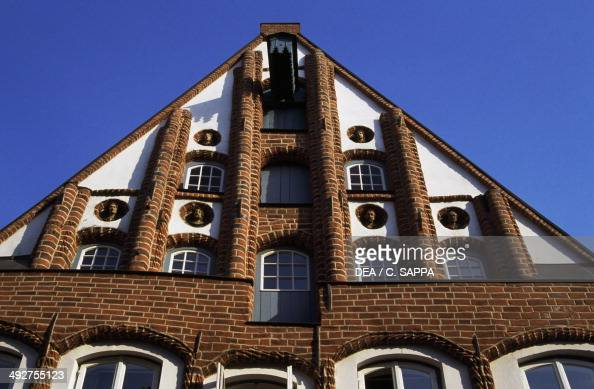 Building in the old town of Luneburg Lower Saxony Germany